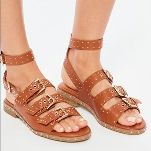 Misguided sandals